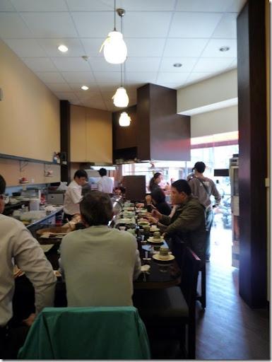 台南-金將壽司-內部