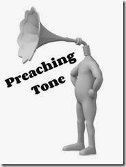 Preaching tone head