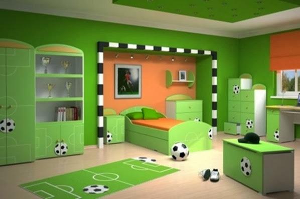 dormitorio-niño-verde-futbol