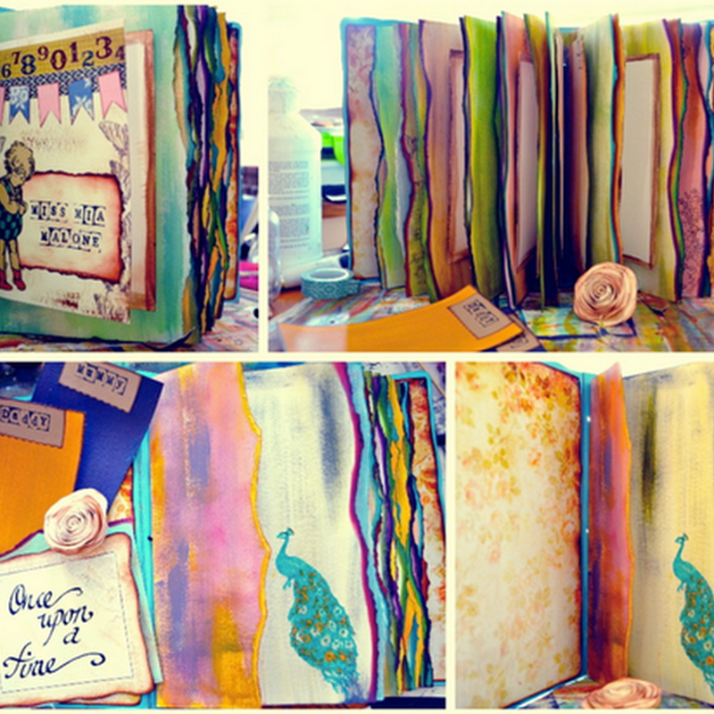 Julz Davidson - The Sleepy Artisan - Creator of Unique Hand Crafted and Hand Bound Books