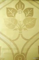 """Tkanina ozdobna typu """"adamaszek"""". Dwustronna. Na zasłony, poduszki, narzuty, dekoracje. Beżowa, kremowa, ecru."""