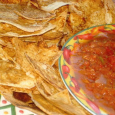 Homemade Spicy Tortilla Chips