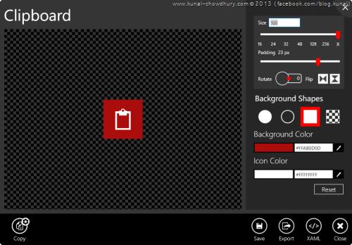 3. Syncfusion Metro Studio 2 - Icon Editor