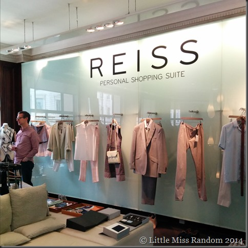 The Personal Shopping Suite at Reiss Regent Street