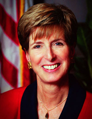Former administrator of the Environmental Protection Agency Christine Todd Whitman, from 2001 to 2003. Photo: EPA
