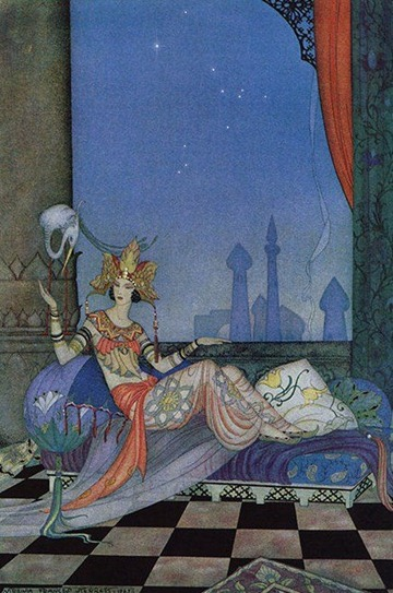 arabian_nights_001 Virginia Frances Sterrett