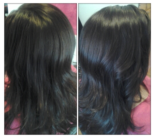Healthy hair is beautiful hair mocha brown hair color