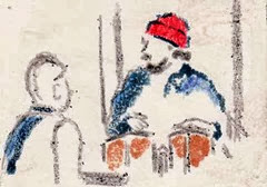 red hat and bongos
