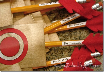 Disney Brave Party Favors