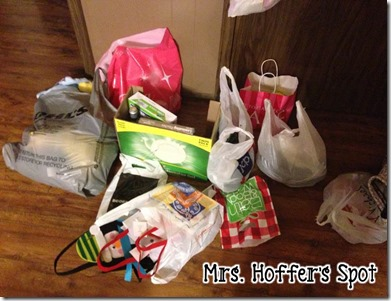 Shopping is my Favorite! Mrs. Hoffer's Spot