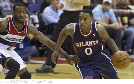 'Jeff Teague' photo (c) 2013, Keith Allison - license: http://creativecommons.org/licenses/by-sa/2.0/