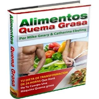 ALIMENTOS QUEMA GRASA [ Libro + Video Curso ] – Tu dieta de transformación de 24 hs. que hará de tu cuerpo una máquina quema grasa