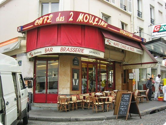 Il favoloso mondo di Amélie caffe