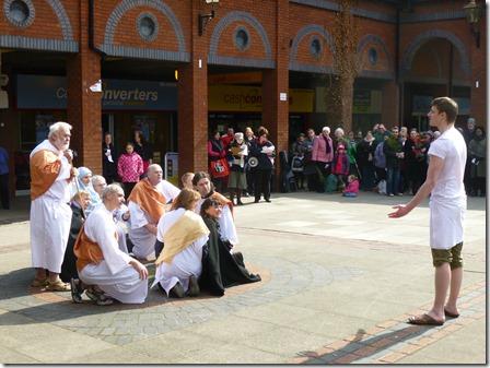 Good Friday Passion Play - Resurrection - Victoria Square