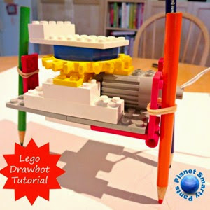 Lego Drawbot Step by Step