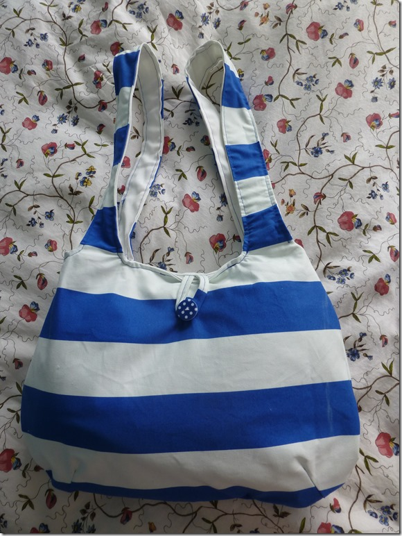 Uni Therapy - DIY Striped Tote 1