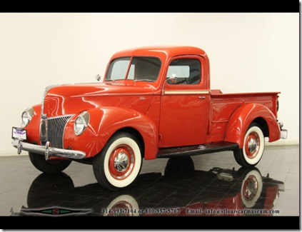 1940 ford pickum up