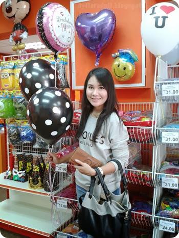 helium balloons penang kedah bridal shower party 2