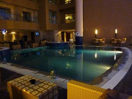 Poolen, Hilton Double Tree Hotel, Aqaba, Jordanien