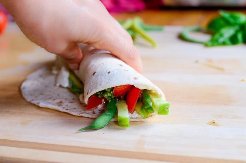 gf green bean cucumber wrap-12350