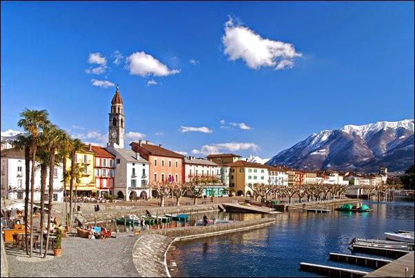 Ascona lakeside - Switzerland