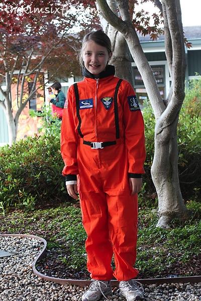 Hero day astronaut