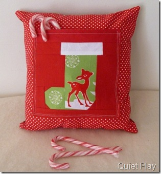 Sew Seasonal Cushion