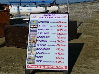 Cazare Cipru: Sporturi de apa - preturi