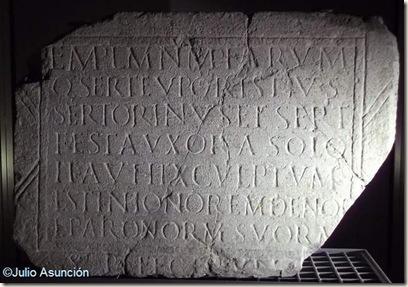 Placa del templo de las Ninfas - Llíria