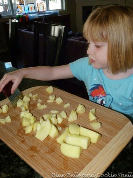 Cooking With Kids: Making an Apple Cake | From Blue Bells and Cockle Shells