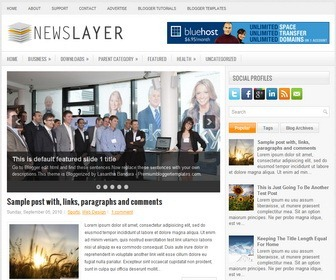 NewsLayer-Blogger-Template