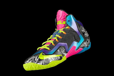nike lebron 11 id allstar 2 02 gumbo Nike Unleashed Endless Possibilities with LeBron 11 Gumbo iD!