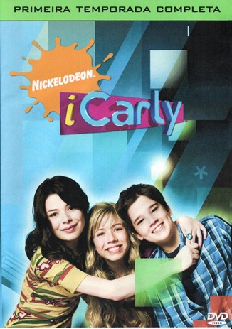 iCarly 1ª temporada - DVD - capa