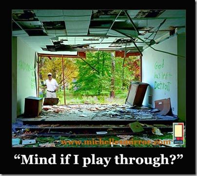 mind if i play through