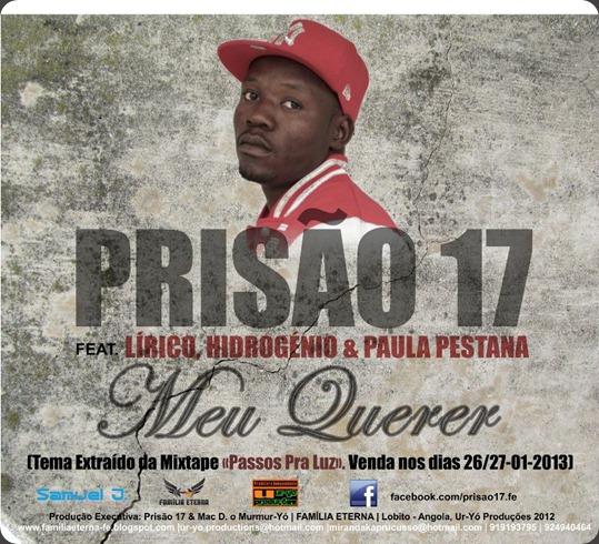 Prisão 17 - Meu Querer [Capa Promocional] Peq