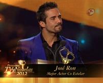 José Ron Mejor Actor Coestelar TVyNovelas 2012