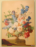 Gobelin 9163c, Bouquet Iris clair, 150x110cm