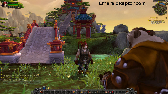 Mists of pandaria - female pandarian