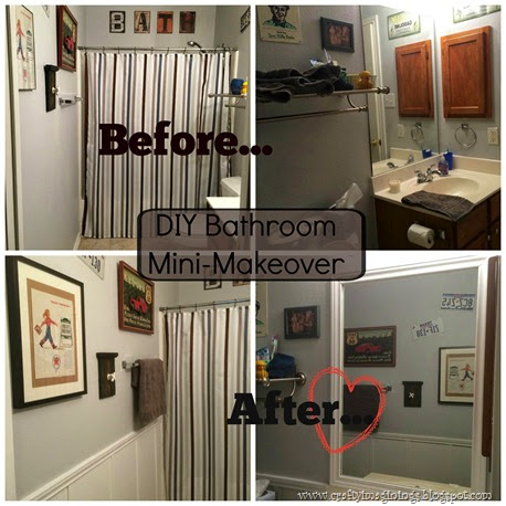 Bathroom Re-do Collage