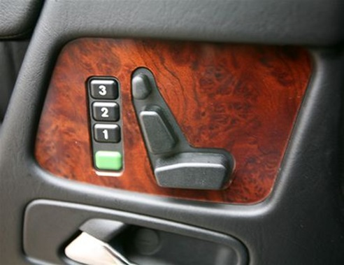 mercedes seat control