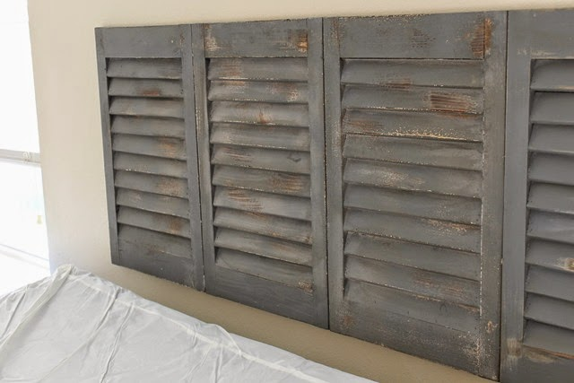 head board out of shutters