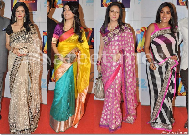 Sarees_Zee_Cine_Awards_2013(1)