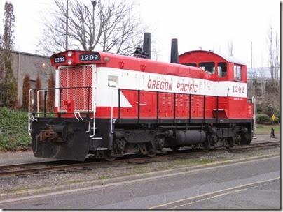 IMG_5327 Oregon Pacific SW1200RSu #1202 in Milwaukie on January 24, 2009