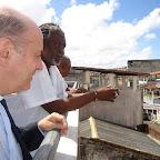 Dom Murilo visita entidades negras