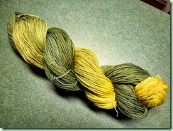 Ai Over Gardenia yarn