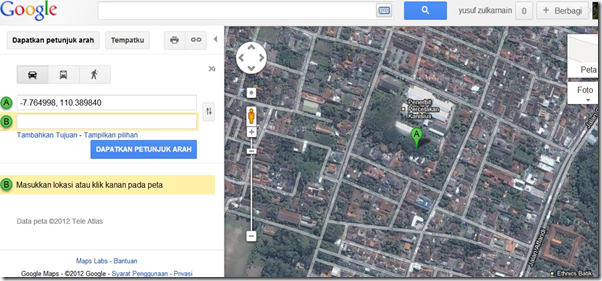 how to add my website in google map