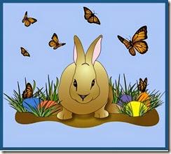 Easter Bunny Bunny Linda 2014