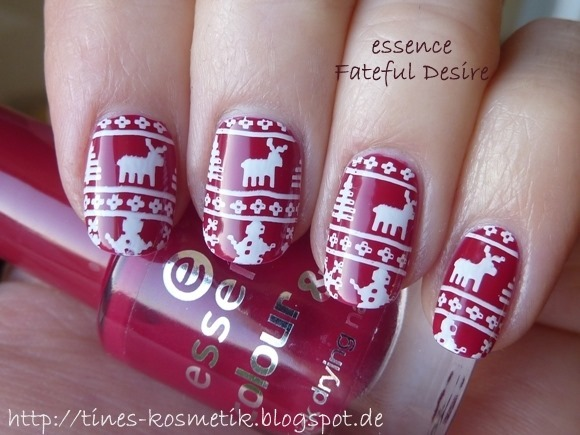 Winter Sweater Stamping 3