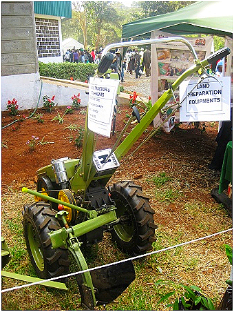Walking tractor/hand held motorized plow