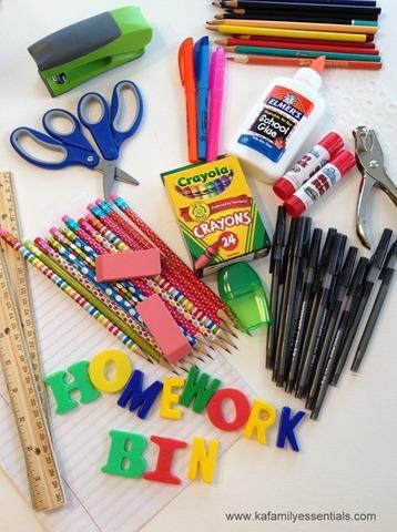Kiddie Academy Homework Bin (3)